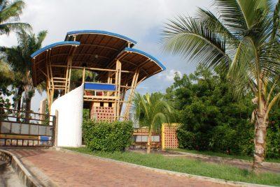 porteria guadua bamboo zuarq