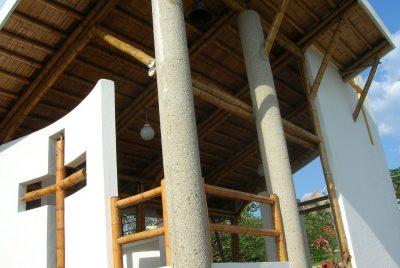capilla en bamboo zuarq