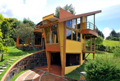 casa santoño arquitectura guadua