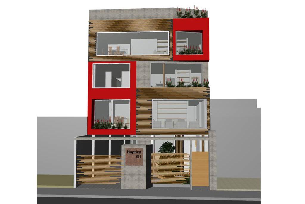 edificio Haptica zuarq bambu